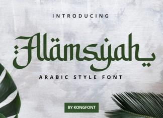 Alamsyah Font