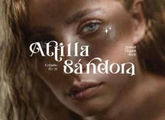 Attilla Sándora Serif Font