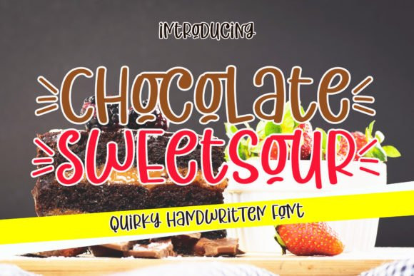 Chocolate Sweetsour Display Font