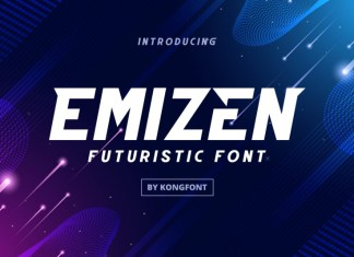 Emizen Display Font