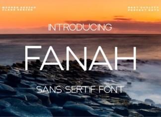 Fana Sans Serif Font