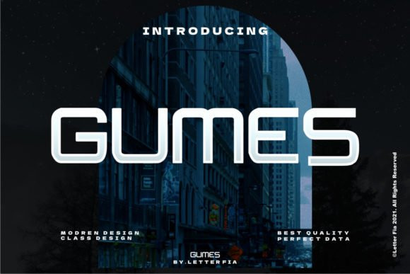 Gumes Display Font