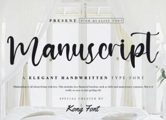 ManuScript Script Font