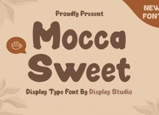 Mocca Sweet Display Font