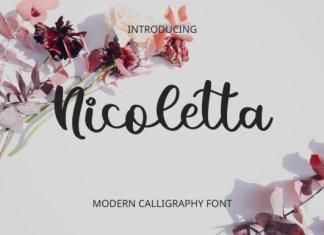 Nicoletta Calligraphy Font
