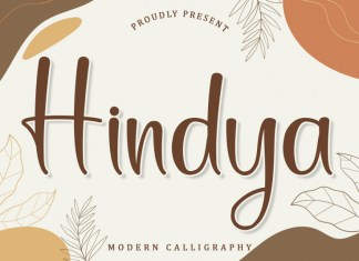 Hindya Script Font