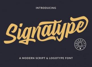 Signatype Script Font