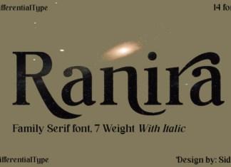 Ranira Serif Font