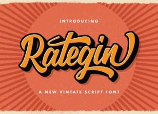 Rategin Script Font
