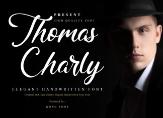 Thomas Charly Script Font
