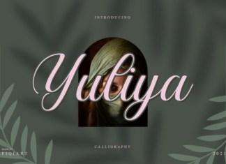 Yuliya Script Font