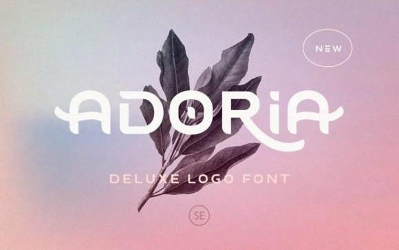 Adoria Display Font