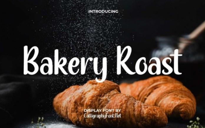 Bakery Roast Script Font