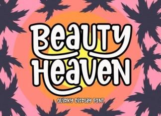 Beauty Heaven Display Font