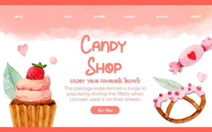 Candy Gum Display Font