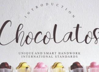 Chocolatos Calligraphy Font