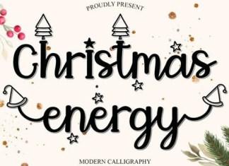 Christmas Energy Script Font
