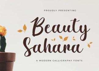 Beauty Sahara Script Font