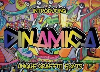 Dinamica Display Font