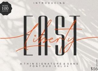 East Liberty Handwritten Font