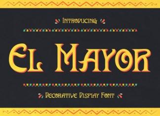 El Mayor Display Font