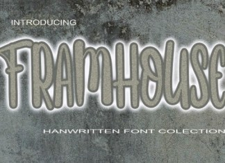 FRAMHOUSE Display Font