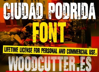Ciudad Podrida Display Font