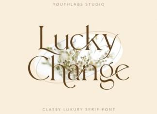 Lucky Change Serif Font