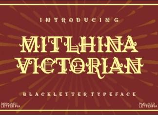 Mitlhina Victorian Display Font