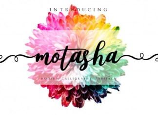 Motasha Calligraphy Font
