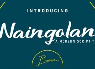 Naingolan Script Font