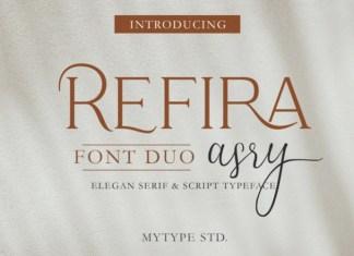 Refira Asry Font Duo