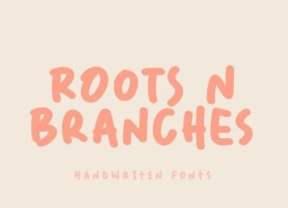 Roots N Branches Display Font