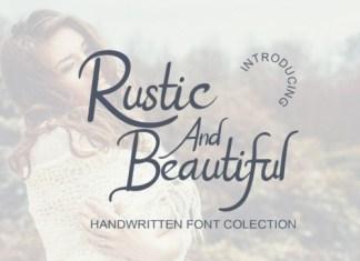 Rustic And Beautiful Script Font