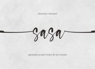 Sasa Script Font