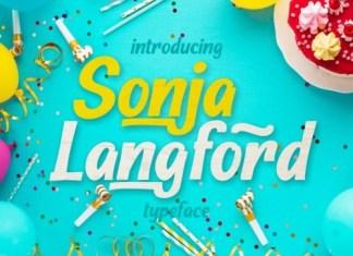 Sonja Longford Display Font