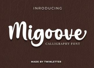 Migoove Script Font