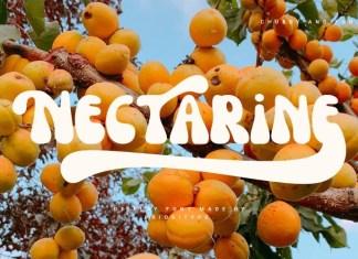 Nectarine Display Font