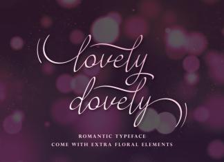 Lovely Dovely Script Font