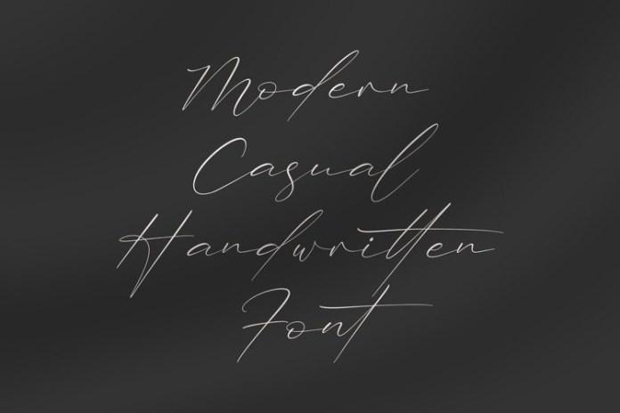 Trescilla Corinne Handwritten Font