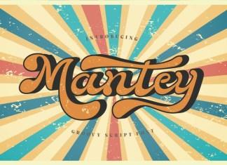 Mantaey Script Font