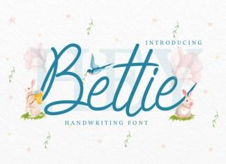Bettie Handwritten Font