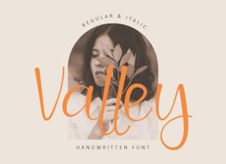Valley Script Font