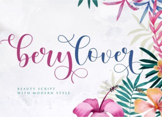Berylover Calligraphy Font