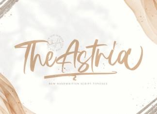 Astria Script Font