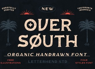 Oversouth Display Font