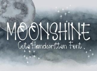 Moonshine Handwritten Font
