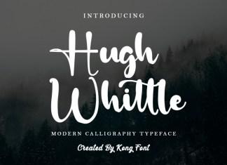 Hugh Whittle Script Font