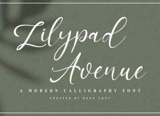 Lilypad Avenue Script Font
