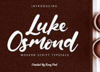 Luke Osmond Script Font